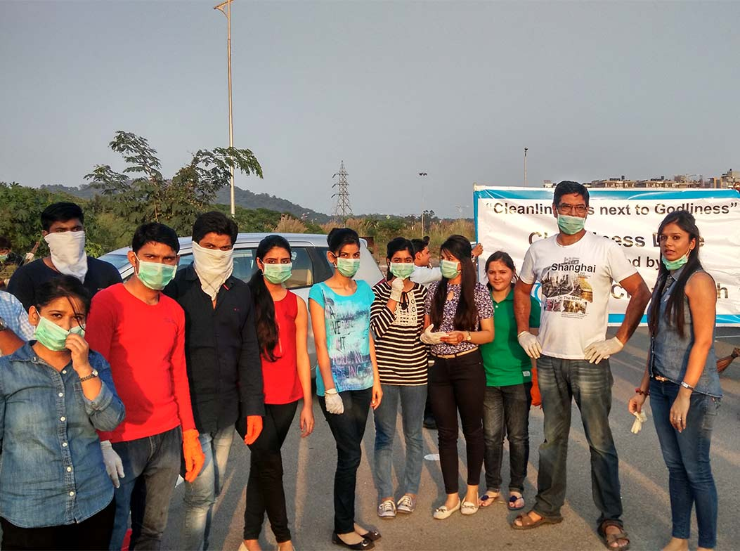 Cleanliness Drive at IT Park