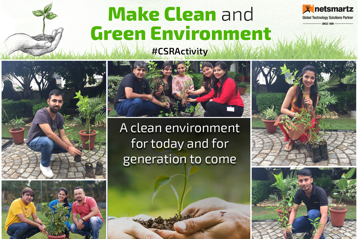 Netsmartz- Make Clean and Green Environment