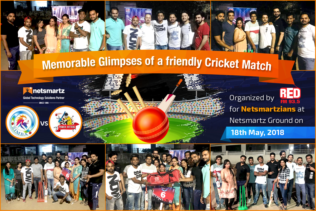 Friendly Cricket Match Organised by Red FM 93.5