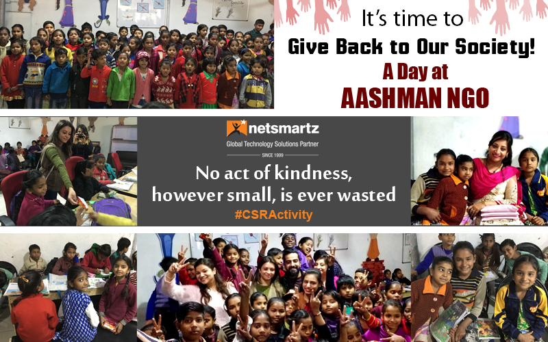 CSR Activities- Charity Drive in Collaboration with Aashman NGO